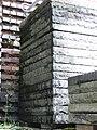 Pile of tiles, inner yard Kongresshalle, Nürnberg 3.JPG