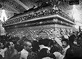 Pilgrims around Zarih of Imam Reza shrine - 1979.jpg