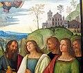 Pinturicchio e bottega, assunzione della vergine, 1508 ca. Q49, 07.JPG