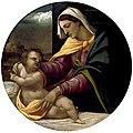 Piombo, Virgen con niño, museo Fiztwilliam.jpg