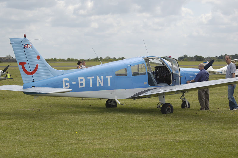 File:Piper pa-28-151 cherokee g-btnt arp.jpg