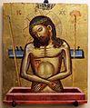 Pittore cretese, cristo in pietà, xv-xvi secolo.jpg
