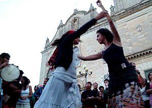 Griko people - Example of Pizzica dance.