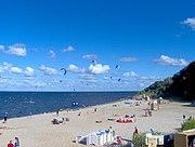 Plaża w Pucku - kitesurfers - beach in Puck (4)
