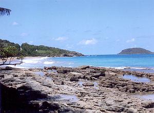 Sainte-Rose, Guadeloupe - Clugny Beach at Sainte-Rose
