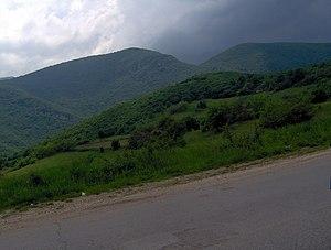 Ozren (Sokobanja) - Image: Planina Ozren