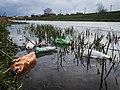 Plastic bottles polluting the river (51172162326).jpg