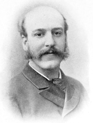 Alfred Nutt - Portrait of Nutt from his obituary in Folk-Lore