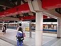 Platform 2, MRT Zhishan Station night.jpg