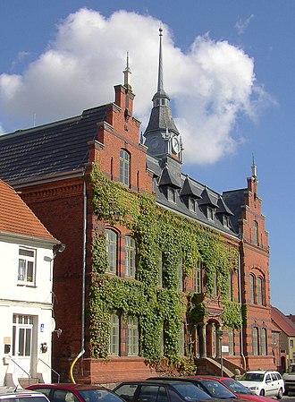 Plau am See - Image: Plau town hall