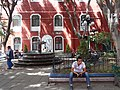 Plaza Scene - Templo Nuestra Senora de La Merced - Centro Historico - Puebla - Mexico (14916935234).jpg