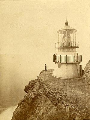 Point Reyes Lighthouse - Image: Point Reyes Lighthouse 1871