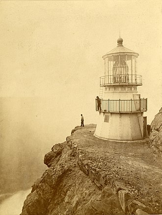 Point Reyes Lighthouse - Image: Point Reyes Lighthouse 1871