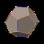 Polyhedron snub 4-4 right dual