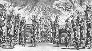 Antonio Cesti - Scenography for Il pomo d'oro