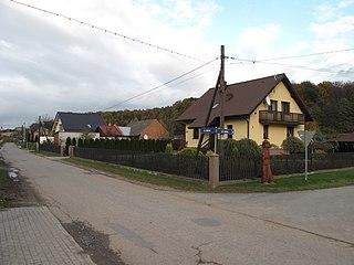 Ponięcice Village in Silesian Voivodeship, Poland