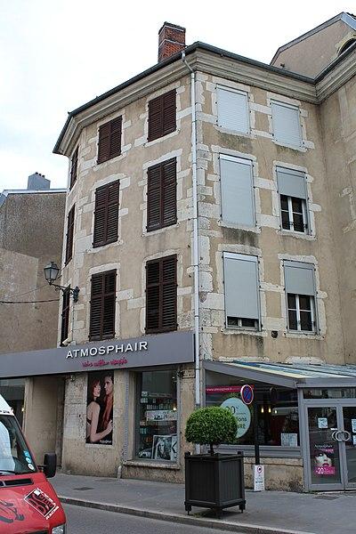 Pont-à-Mousson, house 45 rue Victor Hugo