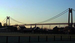 Tancarville - Tancarville Bridge