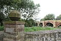 Pont Bangor-is-y-Coed - Grade I Listed Building in Bangor-on-Dee, Wrexham, Wales 01.jpg