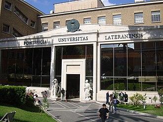 Pontifical Lateran University - Pontifical Lateran University.