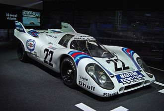 1971 World Sportscar Championship - Porsche won the 1971 International Championship for Makes with its 917K (pictured) and 908/3 models