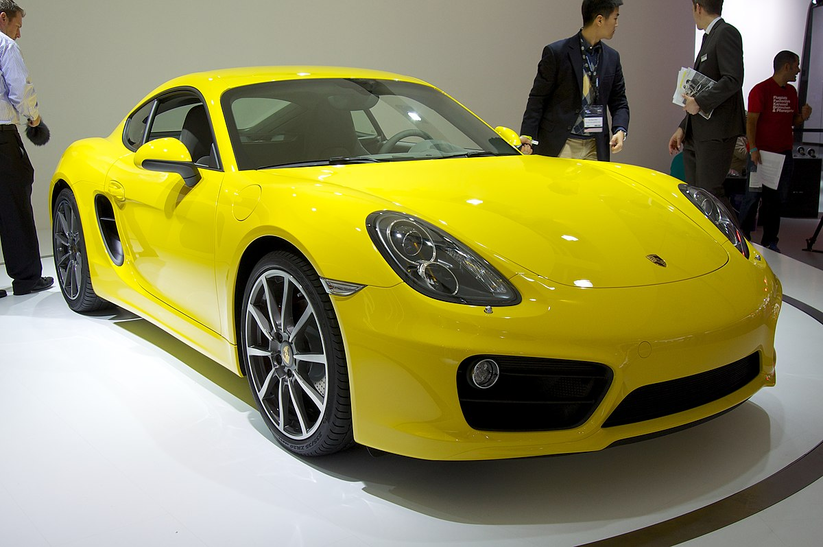 Porsche Cayman S Design Edition