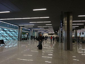 John Paul II International Airport Kraków–Balice - Interior of the main terminal
