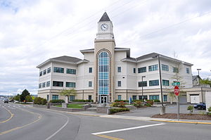 Kitsap County, Washington - Image: Port Orchard city hall 02