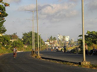 Port Road, Kollam - Image: Port Road UC at Kollam, Oct 2016