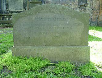 John Porteous (soldier) - Porteous's grave