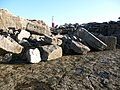 Portland, lighthouse and boulders - geograph.org.uk - 1098748.jpg