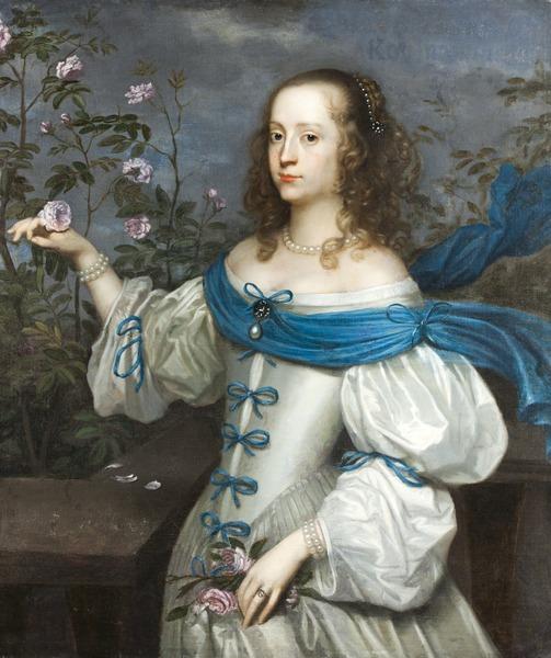 File:Porträtt, Grevinnan Beata Elisabeth von Königsmarck (förmodad) - Skoklosters slott - 88963.tif