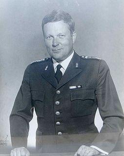 Bengt Liljestrand Swedish Army Major General