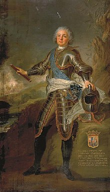 Portrait of Jacques Henri of Lorraine, Prince of Lixin by a member of the French School.jpg
