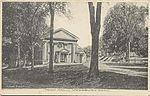 PostcardWoodburyCTTownHall1907