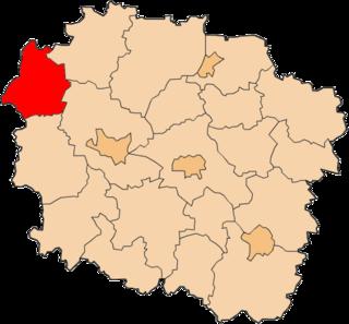 Sępólno County County in Kuyavian-Pomeranian, Poland