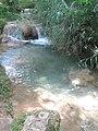 Pozo de aguas cristalinas en Agua Azul, Chiapas. - panoramio.jpg