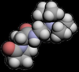 Pramiracetam - Image: Pramiracetam 3d