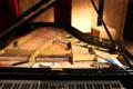 Prepared piano of Phillip Zoubek loft november 2013.xcf