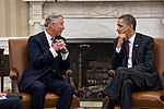 President Barack Obama meets with Prince Charles, Prince of Wales, in the Oval Office, May 4, 2011.jpg