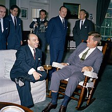 President John F. Kennedy Meets with Carlos Martínez Sotomayor, Foreign Minister of Chile.jpg