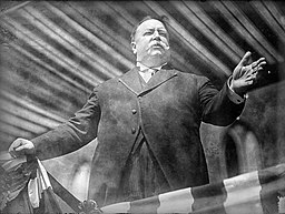 President William Howard Taft introducing the Springfield Municipal Group in Springfield, Massachusetts