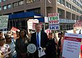 Press conference unveiling plan for Brooklyn health care (9392079415).jpg