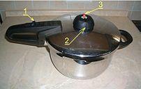 * Pressure cooker, overview * Schnellkochtopf,...