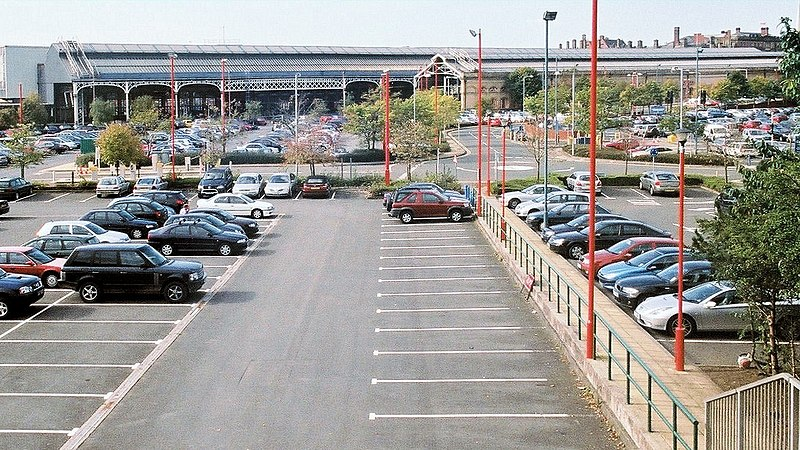 Car Parking At Doncaster Railway Station