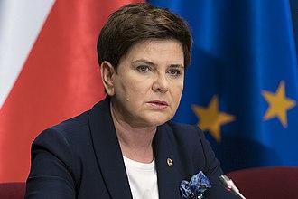 Cabinet of Beata Szydło - Image: Prezes Rady Ministrów Beata Szydło