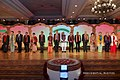 Prime Minister Narendra Modi and ASEAN heads of state and government pose for a photo during the cultural programme and banquet at the Taj Diplomatic Enclave Hotel.jpg