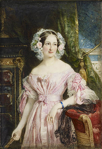 Princess Feodora of Leiningen - Princess Feodora, by Sir William Ross