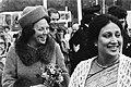 Prinses Beatrix en mevrouw Begem Ziaur Rahman bezoeken Madurodam, Bestanddeelnr 930-2274.jpg