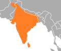 Psittacula cyanocephala range map.png